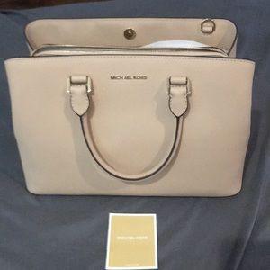 Light cream Michael Kota Handbag Brand New